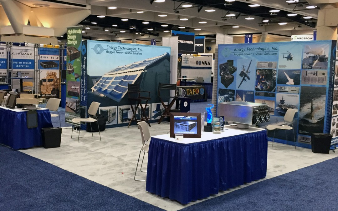 ETI EXHIBITED AT AFCEA WEST