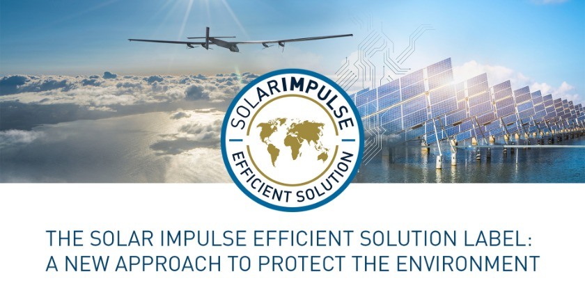 "EEI awarded ""Solar Impulse Efficient Solution"" Label"